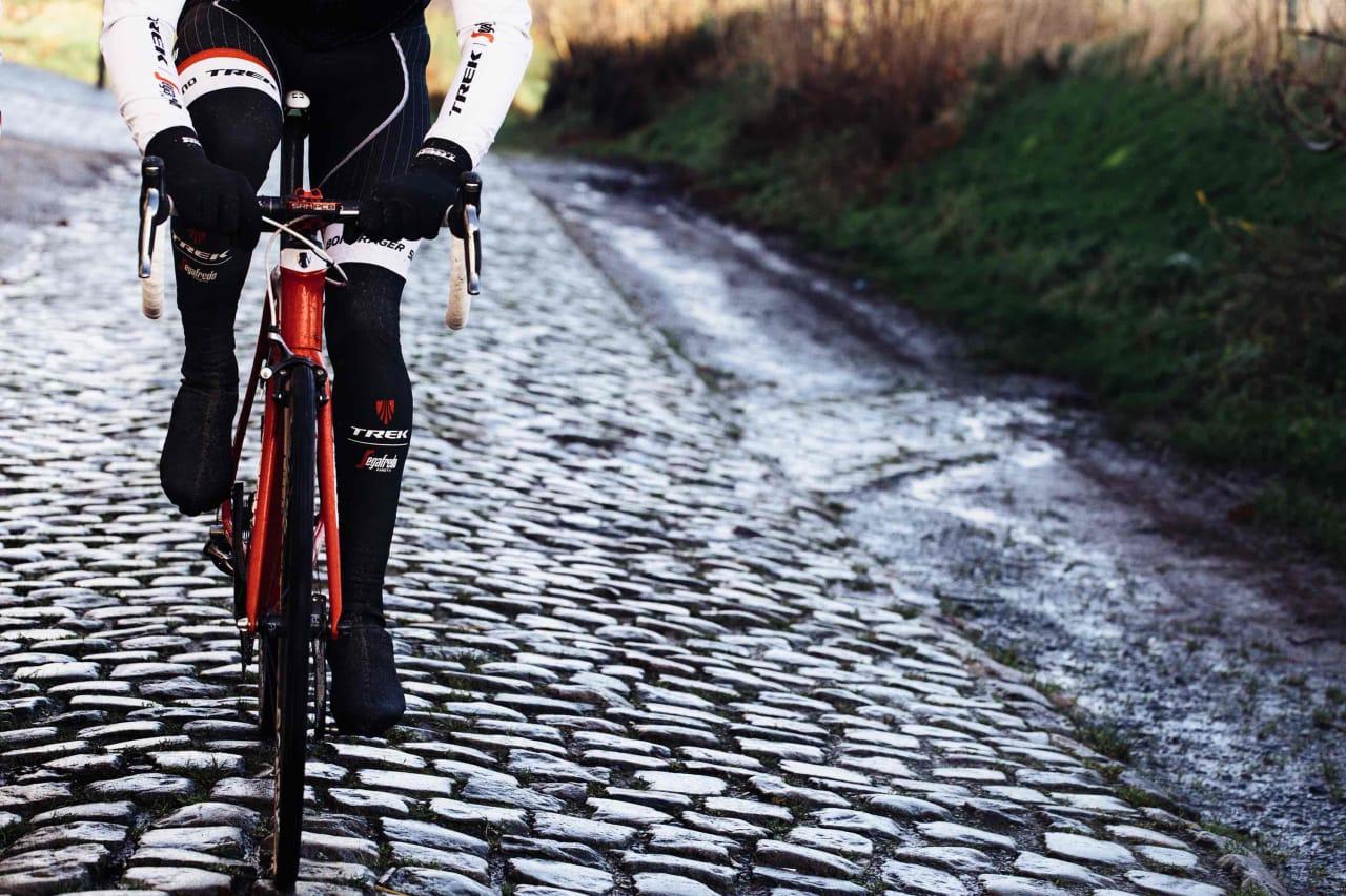 NY VERSTING: Trek lanserer nå sin andre utgave av brosteinsmodellen Domane. Fabian Cancellara har allerede vunnet Strade Bianche på modellen.