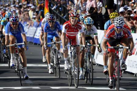 VERDENSMESTERSKO: Både Thor Hushovd og Rui Costa har blitt verdensmestere med fottøy fra Bont. Foto: Cor Vos.