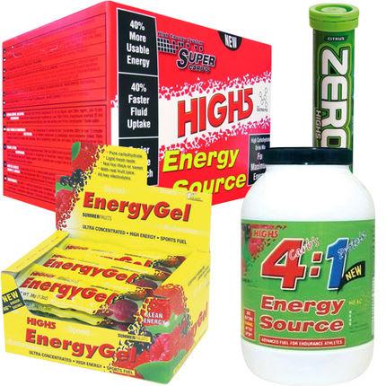 GI MEG FEM!: Vi er begeistret for produktene fra High 5 Foto: Produsenten