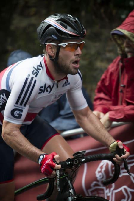LIKE A PRO: Mark Cavendish er en av mange proffer som har brukt Evade i løpet av årets sesong. Foto: Cor Vos