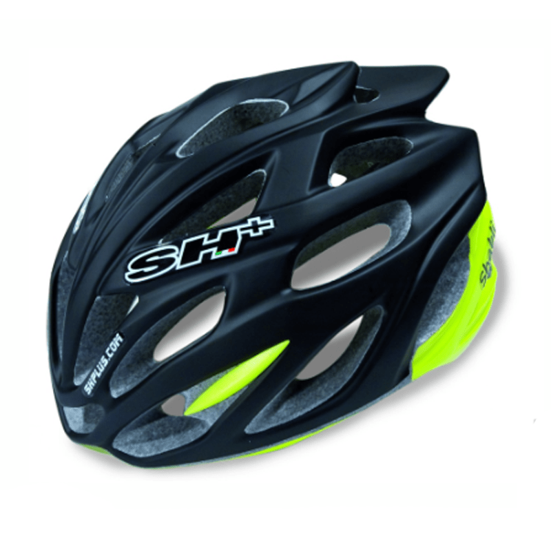 ELEGANT FRA ITALIA: SH+ Shabli er en god hjelm, både visuelt og i bruk. Foto: SH+