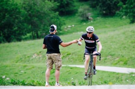 LANGING: Vi ble sørget godt for på vei opp bakken. (Foto: Ashley Gruber)