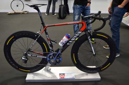 STJERNE: Alexander Kristoff har steget inn i verdenstoppen i år, det må til om du skal få sykkelen din utstilt på Eurobike.
