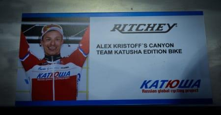 KRISTOFF? Ritchey var vel ikke helt heldig med denne plakaten?