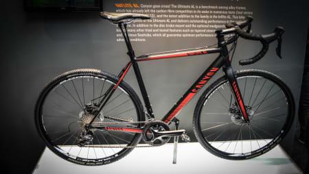 CX TIL VINTERN?: Mange har ventet på en Cyclocross-sykkel fra Canyon, og endelig er den her! Nye Inflite AL blir tilgjengelig i løpet av et par måneder.