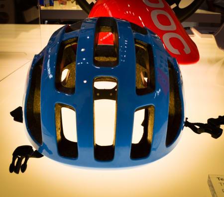 GARMIN: Det amerikanske laget skal etter alt å dømme sykle med denne POC-hjelmen neste år.