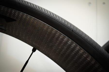 DE ENESTE TRYGGE?: Mavic hevder deres nye C 40 er de eneste carbonclincher-hjulene du kan stole på i dagens marked.