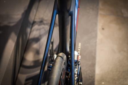 ROMSLIG: Scotts nye komfort-racer, Solace, har rikelig med plass for fete dekk.