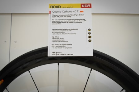 ROUBAIX-VINNER: Endelig lanserer Mavic hjulet Johan Van Summeren vant Paris-Roubaix på i 2011.