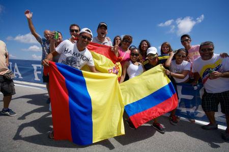 FIESTA I SVINGEN: Denne herlige gjengen lagde skikkelig fest for både amatører og proffer opp Alto Blancas.