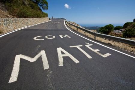 OBLIGATORISK: Ingen fjelletappe uten maling på veien!