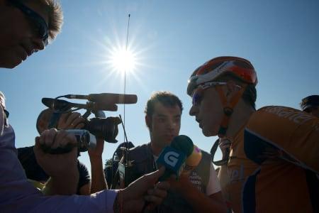 FETTER ANTON: Igor måtte svare på en del ubehagelige spørsmål i går.