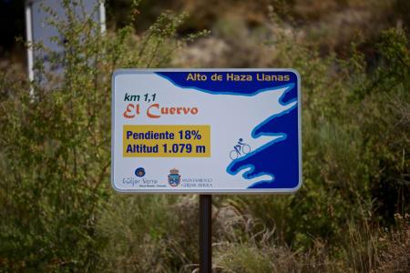 BRATT KURVE: Fæle prosenter i bånn av Alto Hazallanas, og brattere skulle det bli!