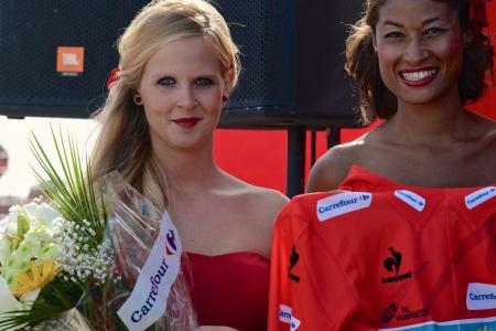 NY MANN I RØDT: Podiumpikene klare for nytt møte med Vincenzo Nibali (Astana).