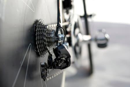 STANDARD: Di2 gruppesett og 11-25 kassett bak er standard vare på Vueltan's tempoetappe.