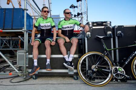 VENTETID: En god syklist må hvile når anledningen byr seg!
