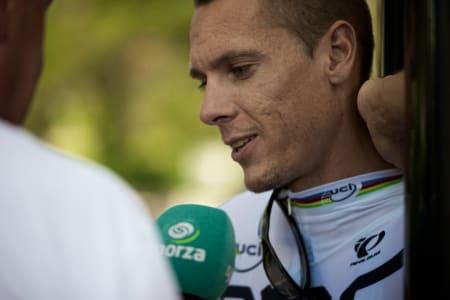 SPORZA.BE: Belgisk sportspresse lurer litt på hva Gilbert egentlig driver med.