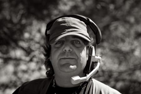 AMIGO PEDRO: Denne mannen jobber for spanske TVE og gir deg tv-bildene fra Vuelta a España!