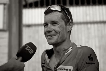 ABSOLUTT GODKJENT: Nicolas Roche satte farge på årets Vuelta a España, og kapret til slutt en sterk 5. palss sammenlagt.