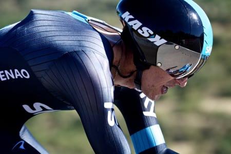 MISLYKKET: Sergio Luis Henao klarte ikke å leve opp til forventnigene i årets Vuelta a España. Havnet til slutt på en skuffende 28. plass sammenlagt.