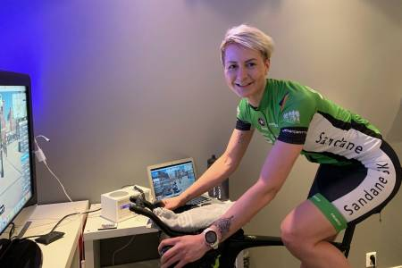 Trude Solvangs favorittøkt i Zwift