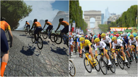 chris froome tour de france zwift