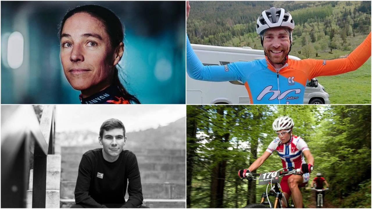 Vidar Mehl, Jonas Iversby Hvideberg og Borghild Løvset