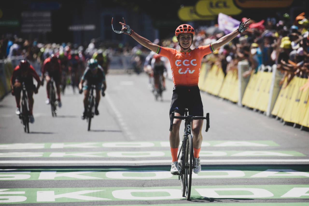 Marianne Vos vinner la course by Tour de France 2019