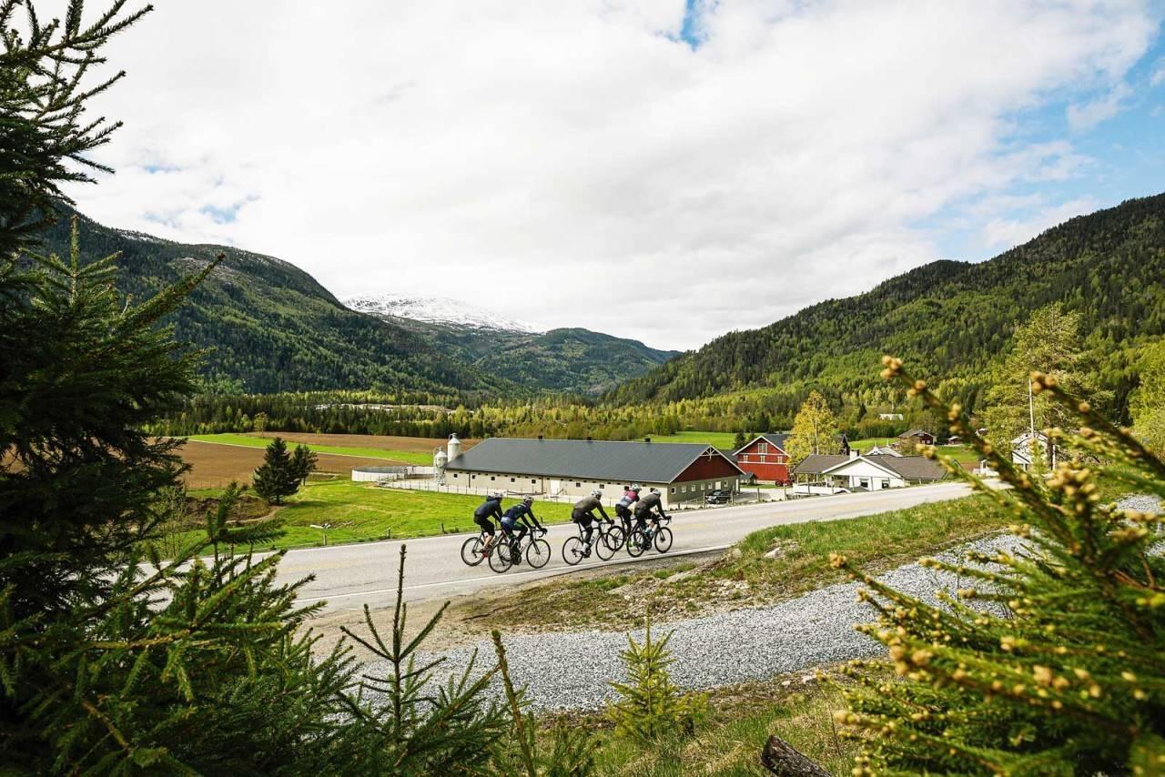 landeveissykling i norge